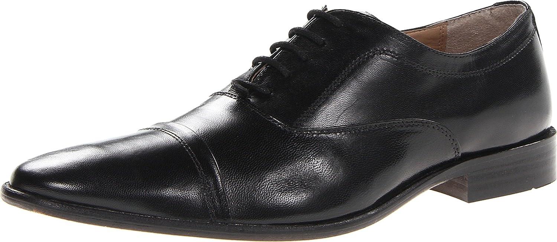 Giorgio Brutinni Mens Dress Casual Lace Up Oxford Shoes,Black,10.5