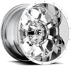 20x10 Fuel Offroad Wheels Krank 8x180-12 Offset 125.2 Hub - Chrome [Authorized Dealer] Fuel-D51620001850