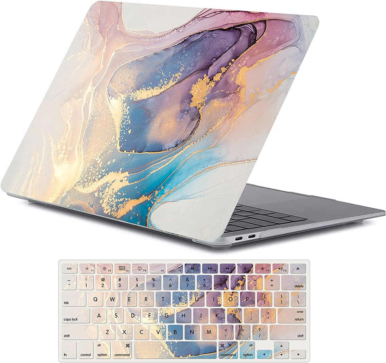 Some reservation 4 years warranty One Micron Case + Keyboard Cover MacBook 13 Pro with Compatible