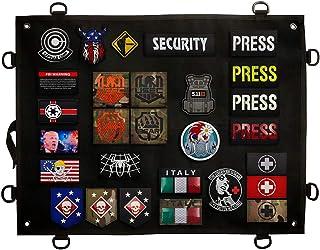 Patch Display Board Panel Case, Opvouwbare militaire patches houder, voor Embleem Tactische Morale Army Combat Hook en Loo...
