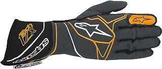 Alpinestars 3550317-1042-XL Tech 1-ZX Gloves, Anthracite/Black/Orange Fluorescent, Size XL, SFI 3.