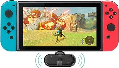 Gulikit Route+ Mini USB C Wireless Audio Adapter Bluetooth Transmitter aptX Low Latency Compatible Nintendo Switch, Wireless Gaming Headphones etc