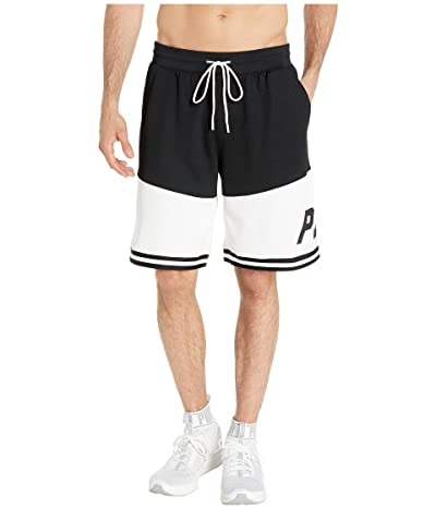 PUMA LuXTG Basketball Shorts (Puma Black/Puma White) Men