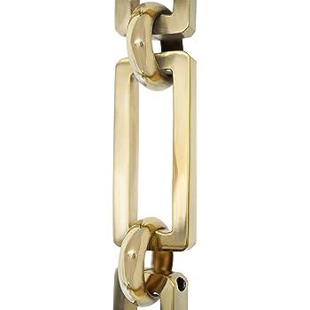 3 Feet Polished Nickel RCH Hardware CH-22P-PN-3 Brass Chandelier Chain