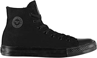 SoulCal Mens Canvas High Trainers Shoes Pumps Sneakers