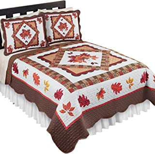Best holiday quilt set king Reviews