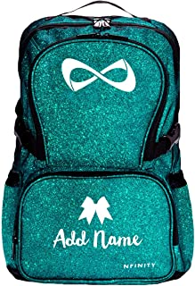 Custom Name Trendy Teen Cheer Gear: Nfinity Sparkle Backpack Bag