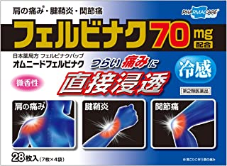 【第2類医薬品】オムニードフェルビナク 28枚 ※セルフメディケーション税制対象商品
