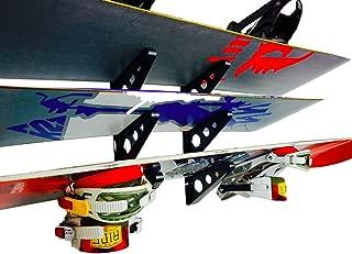 StoreYourBoard Snowboard Multi Wall Rack, Home Storage & Organization Horizontal Mount