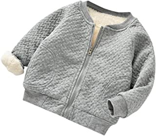 Baseball Coat for Girls, Toddler Baby Girls Cute Autumn Winter Jacket Outwear Warm Clothes