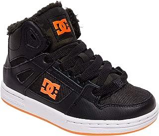 DC Kids' Pure High-top Wnt Skate Shoe