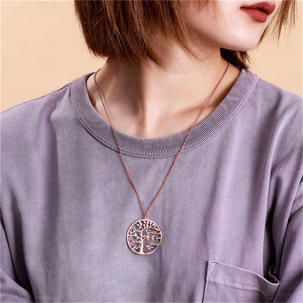 Womens Necklace Custom Name Necklace 925 Silver Family Tree Necklace Personalized Necklace Best Gift for Women