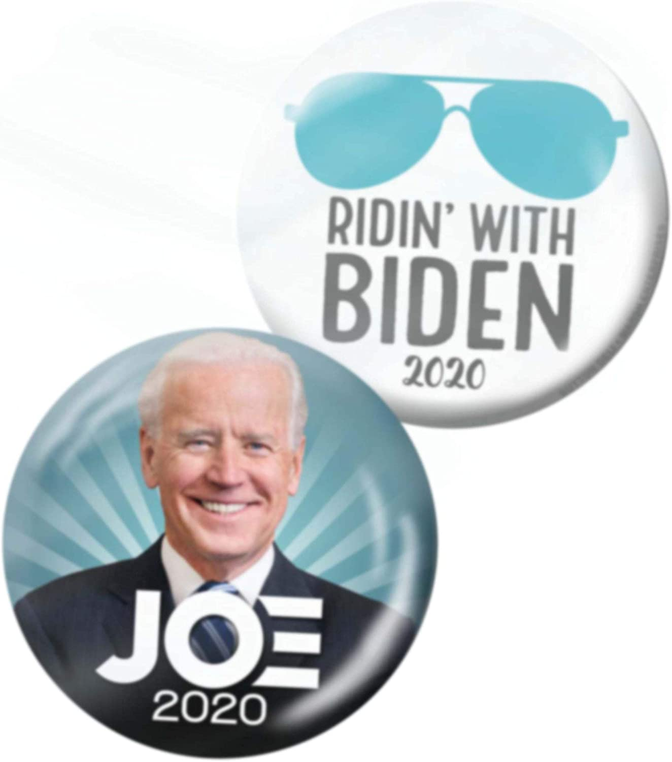 Ridin' with Biden 35% OFF Button and Photo 2020 Pins Joe - 2-Pack Free shipping on posting reviews