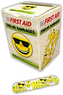 Emojis Bandages Are Cool - 100ct Sterile 3/4