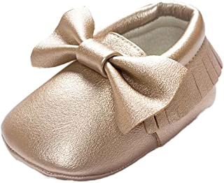Voberry Baby Toddler Shoes Soft Non Skid House Slipper Socks Infant First Walking Moccasins Shoes for Boys Girls
