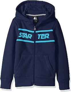 Starter Girls' Zip-Up Logo Hoodie, Amazon Exclusive