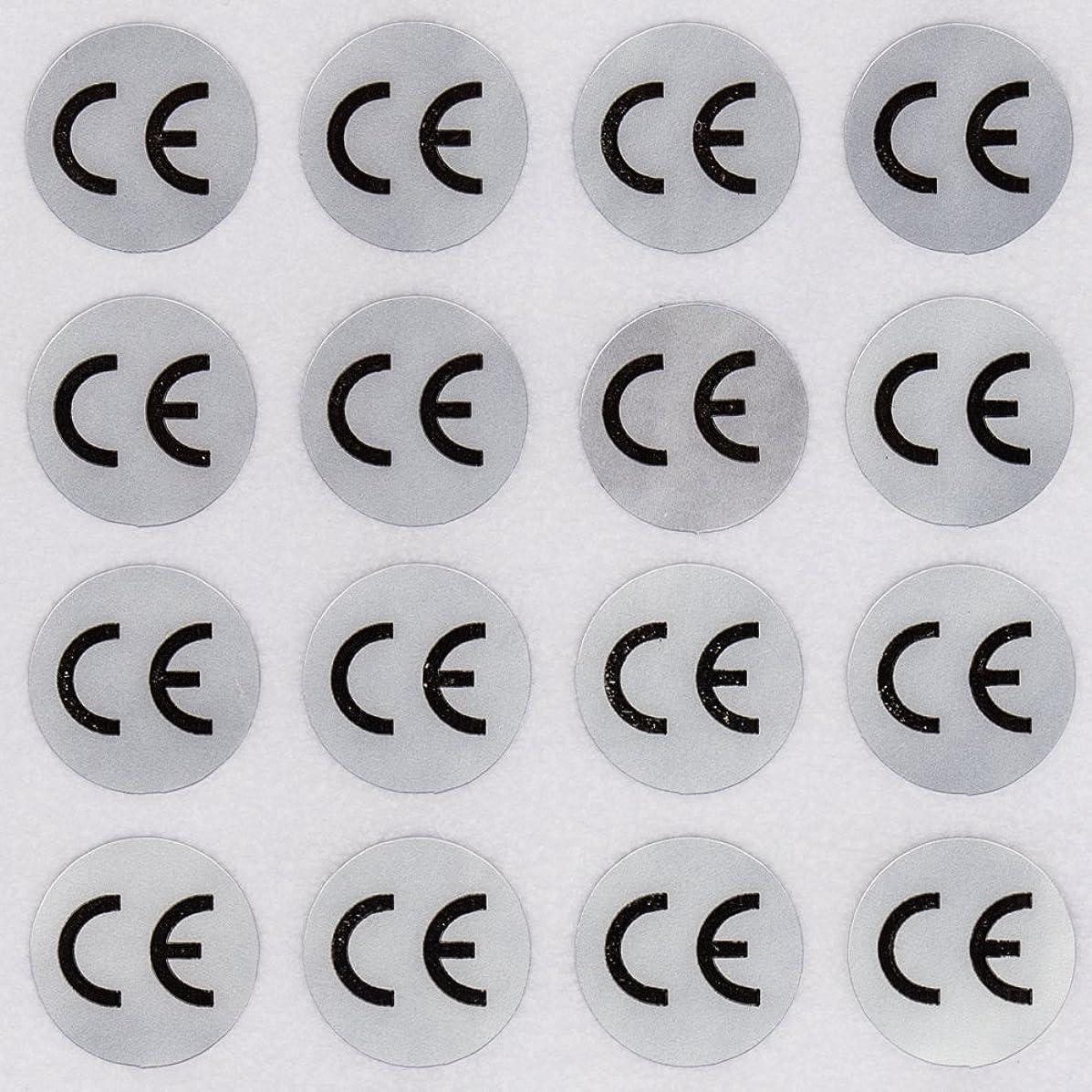 1000pcs CE sticker CE marks CE adhesive sticker round shape diameter 1CM