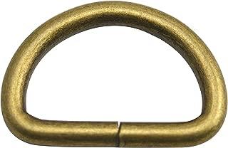 LEN:2.2,oval ring inner Diam:1,10Pcs Wuuycoky Noir Bague ovale Large Plat Boucle Homard fermoirs pivotant Snap Crochets