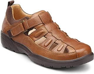 Fisherman Men's Therapeutic Diabetic Extra Depth Sandal Leather