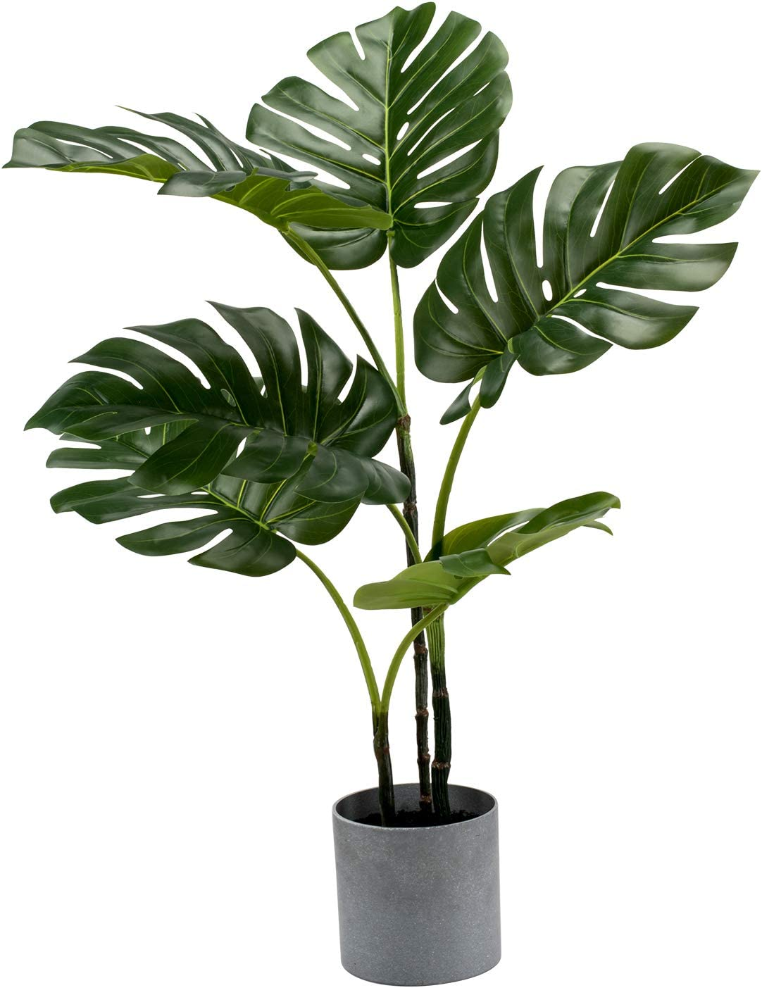 Safety and trust LuckyGreenery Artificial Monstera Realistic Po Lowest price challenge Plants Fake with