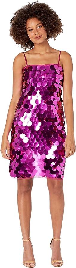 Ellia Circle Sequin Mini Dress