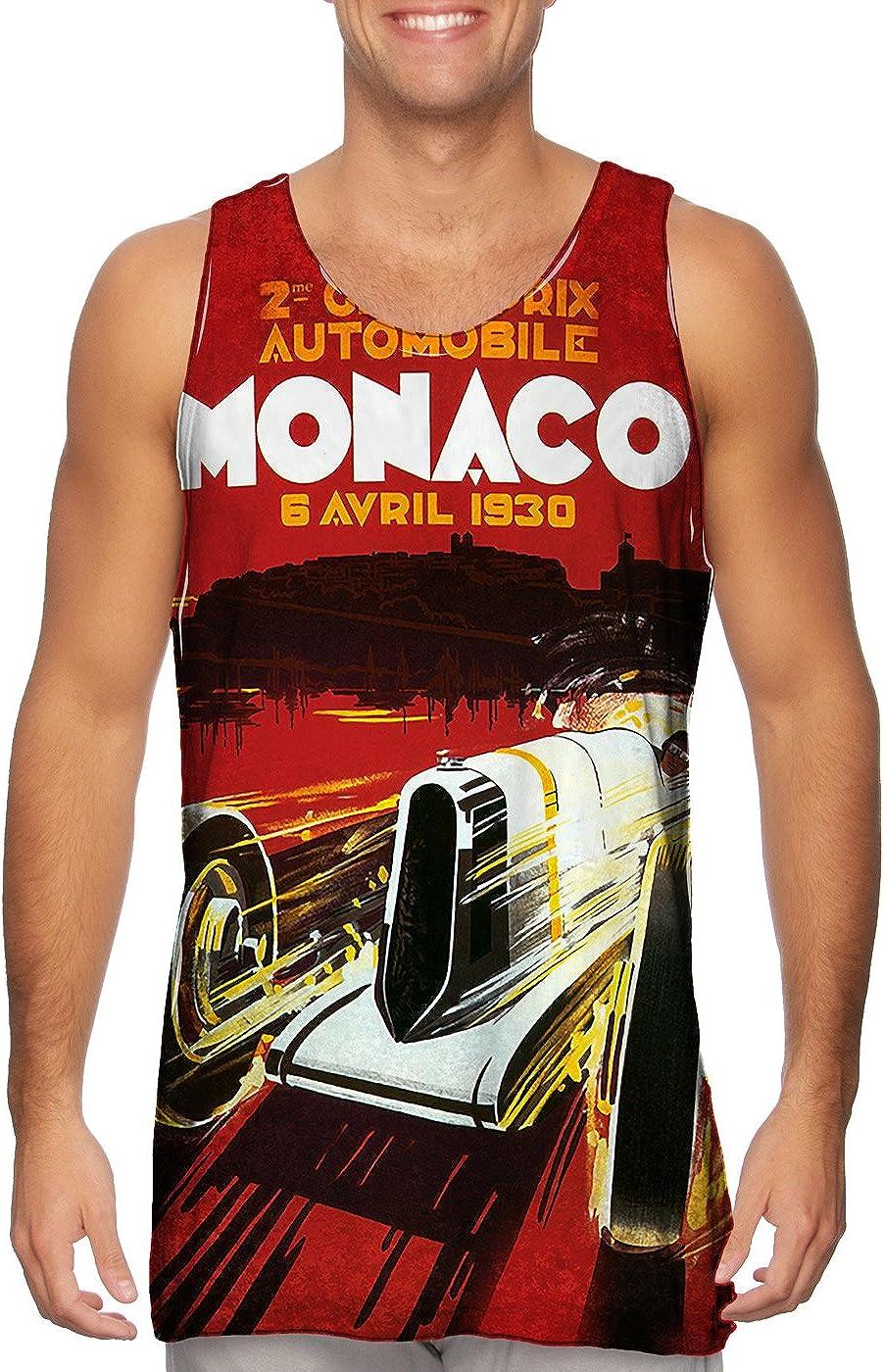 Superior Yizzam- High quality new Monaco Grand Prix Automobile Top -Tshirt- Tank Mens