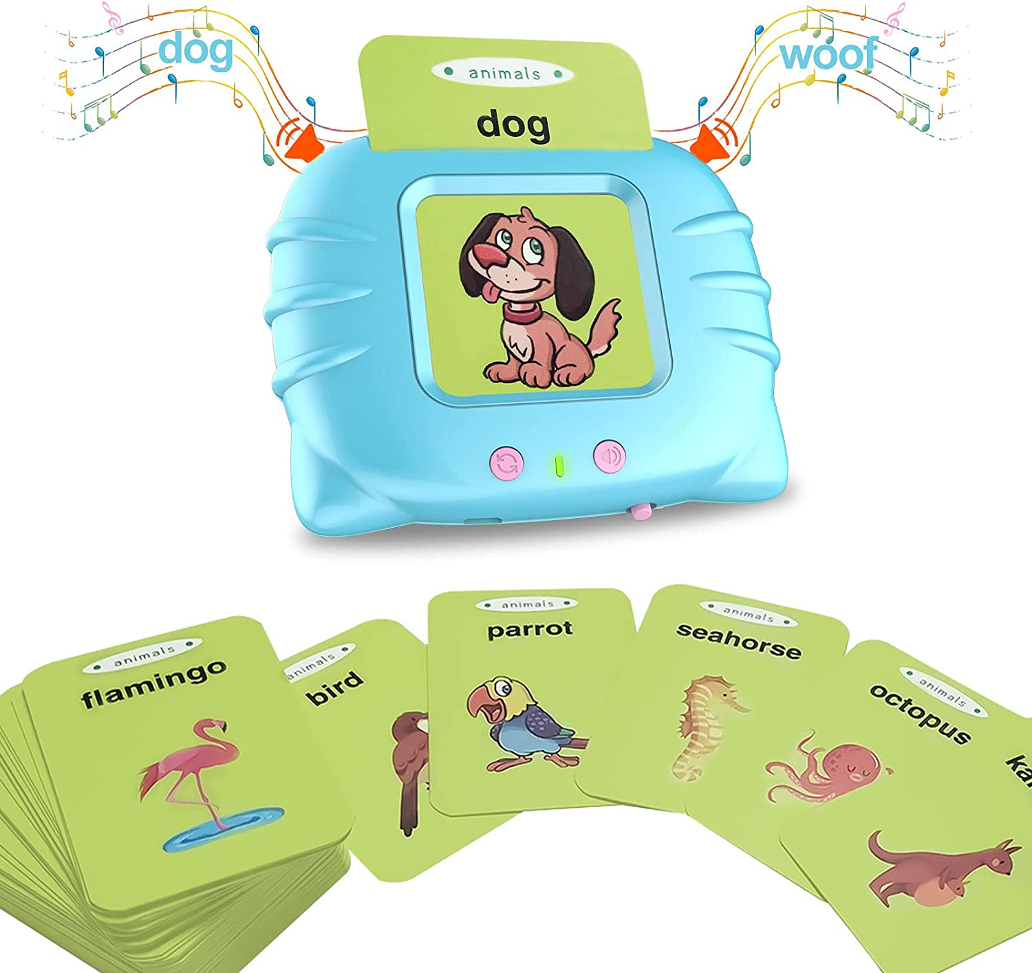 BAZOVE Flash Cards for Preschool Educa Quantity limited Limited time sale Electronic Learning Kids