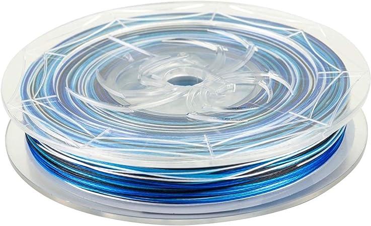 Spiderwire Stealth Blue Camo 100 Meter 0,14mm von der Gro/ßspule