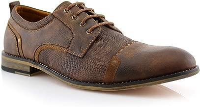 Ferro Aldo MFA19619L Trevor Men's Classic Formal Elegant Lace up Oxford Shoes