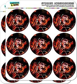 ملصقات صناعة سجل القصاصات بتقويم التخطيط الحرائق على إلم ستريت فريديز من إيه نايتمير