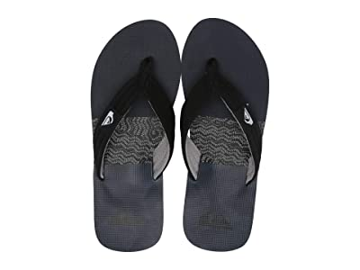 Quiksilver Molokai Layback (Black/Grey/Blue 4) Men