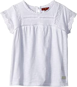 7 For All Mankind Kids Lace Tee (Little Kids)
