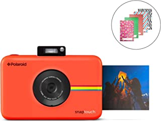 Polaroid SNAP Touch 2.0 - 13MP Portable Instant Print Digital Photo Camera w/Built-in Touchscreen Display, Red