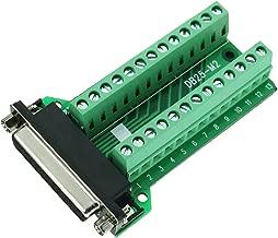 Connector Db25 D-sub Female Plug 25-pin Port Terminal Breakout PCB Board