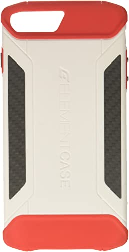 2021 Element Case CFX high quality Mil-Spec Drop Tested Case for Apple iPhone 8 Plus and 7 lowest Plus - White/Red (EMT-322-131EZ-12) outlet online sale