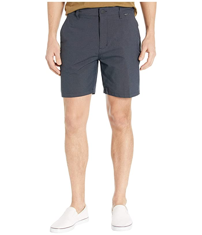 Hurley  18 Dri-Fit Chino 2.0 Shorts (Black) Mens Shorts