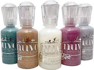 Nuvo Glitter Drops - Ruby Slipper Emerald City Golden Sunset Silver Moondust & White Blizzard