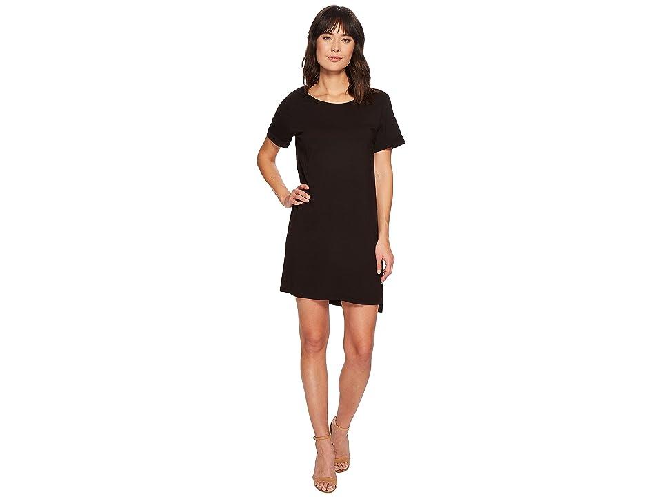 LAmade Mia T-Shirt Dress (Black) Women's Dress