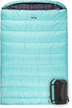 TETON Sports Mammoth Queen-Size Double Sleeping Bag; Warm and Comfortable for Family Camping