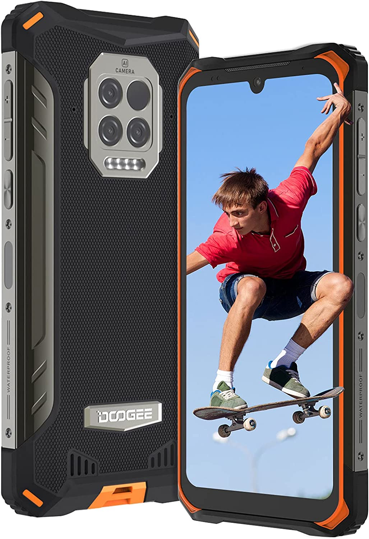 DOOGEE S86 Pro Rugged Smartphone in Offerta, 6.1'' HD+ 8500mAh Batteria IP68 Impermeabile Telefono Robusto, 8GB+128GB Octa-core, Triple Camera 16MP, NFC, Dual SIM 4G/GPS/OTG Cellulari Offerte(Arancia) [Classe di efficienza energetica A+++]