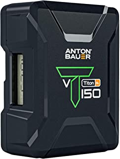 Anton Bauer Titon SL 150 V-Mount Lithium-Ion Battery (8675-0158)
