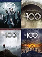 The 100 Complete Series Season 1-4 DVD Bundle (2014-2017 14-Disc)