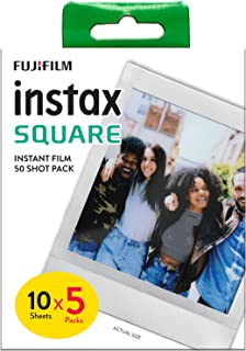 instax SQUARE Film 50 pack, Vit Ram