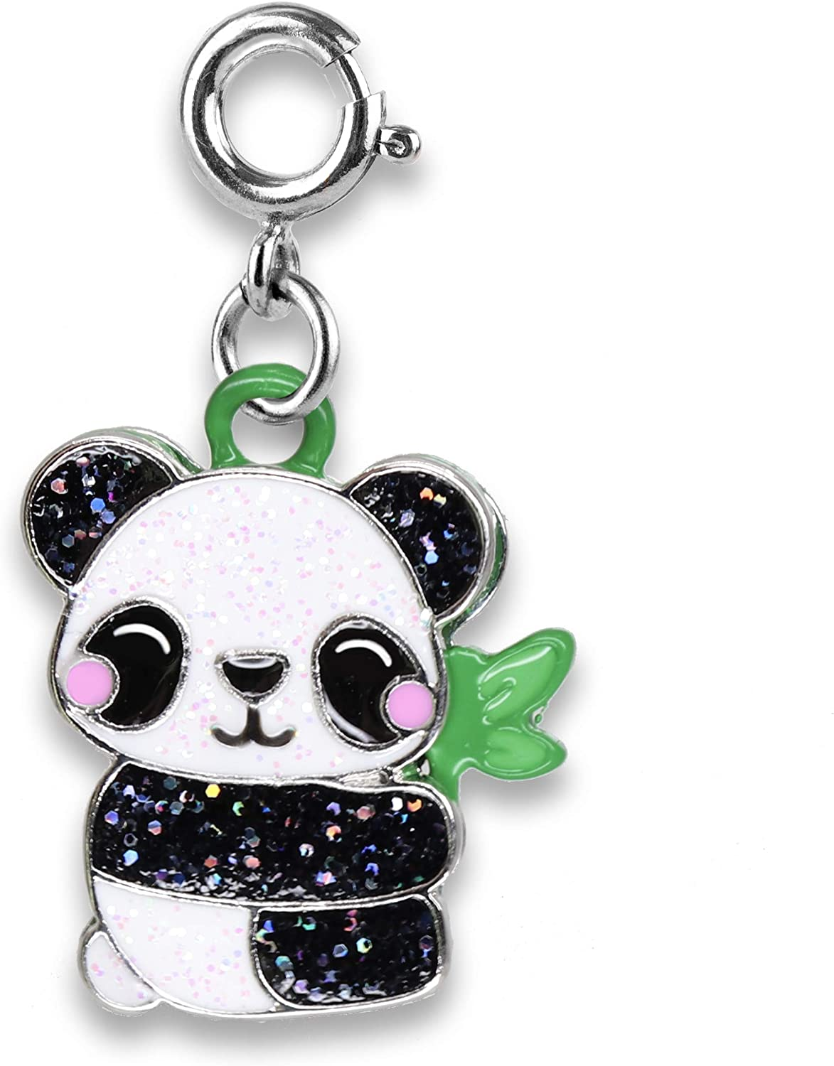 CHARM IT Charms for Bracelets and Year-end annual account Panda Glitter - Large special price !! Necklaces Cha