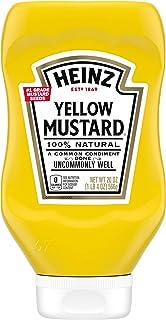 Heinz Yellow Mustard (20 oz Bottles, Pack of 12)