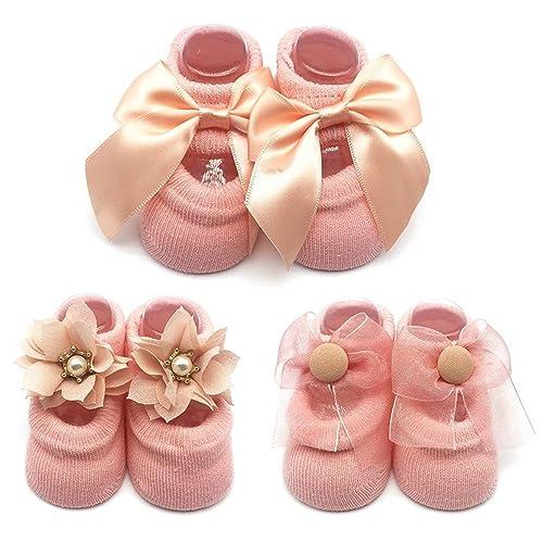 1eb45253e114b Cute Newborn Booties: Amazon.com