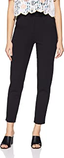 Marks & Spencer Women's Slim Fit Pants (5057_Black_8)