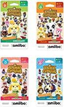 $39 » Nintendo Animal Crossing amiibo Cards Series 1, 2, 3, 4 for Nintendo Wii U and 3DS, 1-Pack (6 Cards/Pack) (Bundle) Includes 24 Cards Total (Renewed)