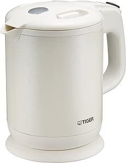 タイガー 電気ケトル 800ml パールホワイト 蒸気レス わく子 PCH-G080-WP