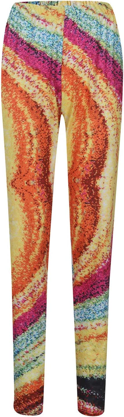 Gwewei4df Printed Leggings Large special price !! for Women Fashion Leggin Waisted High Excellent